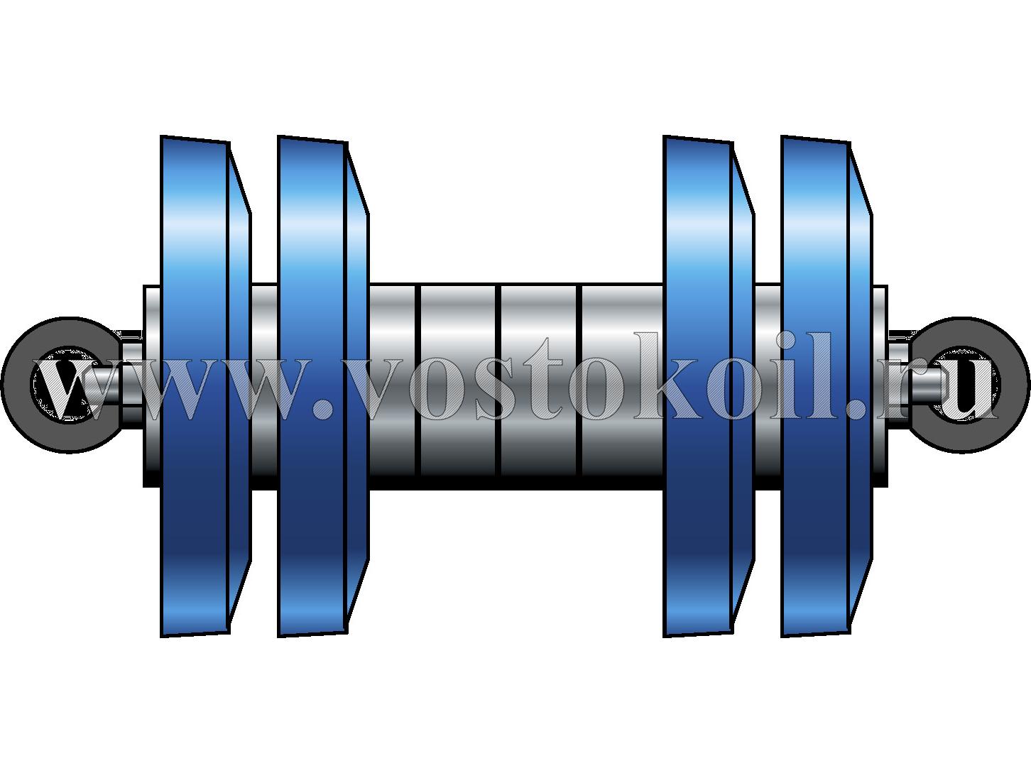 "Очистное устройство ""ВОСТОК-М4"" для трубопроводов диаметром 89-273 мм"